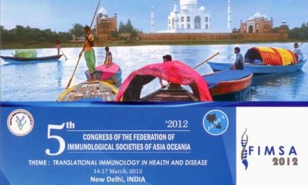 5th Congress of the Federation of Immunological Societies of Asia Oceania – New Delhi 14-17 March 2012