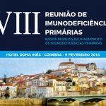 VIII REUNIÃO DE IMUNODEFICIÊNCIAS PRIMÁRIAS