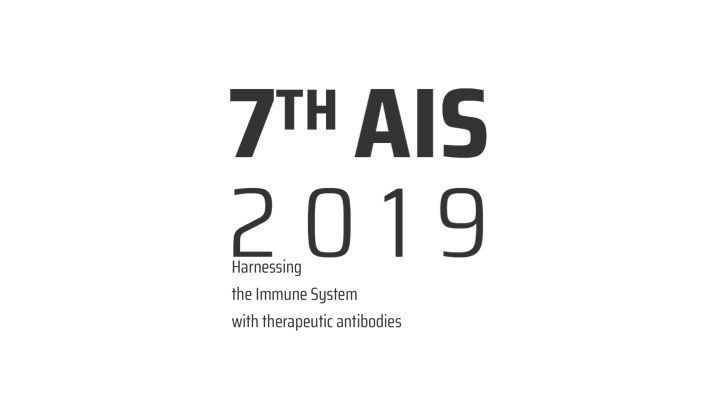 """7th Antibody Industrial Symposium 2019 (AIS2019) – """"Harnessing the immune system with therapeutic antibodies"""""""